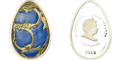 World Coins - Coin, Cook Islands, Elizabeth II, 5 Dollars, 2010, CIT, Proof,
