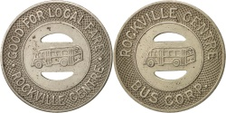 Us Coins - United States, Token, Rockville Centre Bus Corp.