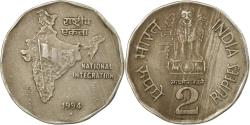 World Coins - Coin, INDIA-REPUBLIC, 2 Rupees, 1994, , Copper-nickel, KM:121.3