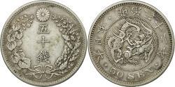 World Coins - Coin, Japan, Mutsuhito, 50 Sen, 1899, , Silver, KM:25