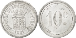 World Coins - France, 10 Centimes, 1921, , Aluminium, Elie #10.2, 1.57