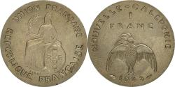 World Coins - Coin, New Caledonia, Franc, 1948, Paris, MS(60-62), Nickel-Bronze, KM:E3