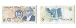 World Coins - Lesotho, 5 Maloti, 1989, KM #10a, UNC(65-70), E859647