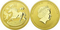 World Coins - Coin, Australia, Elizabeth II, Lunar, 50 Dollars, 2014, Perth, , Gold