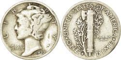 Us Coins - Coin, United States, Mercury Dime, Dime, 1939, U.S. Mint, San Francisco