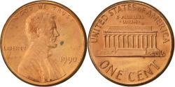 Us Coins - United States, Lincoln Cent, Cent, 1990, U.S. Mint, Philadelphia,