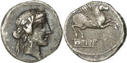 Ancient Coins - Titia, Denarius, Rome, , Silver, Crawford:341/2