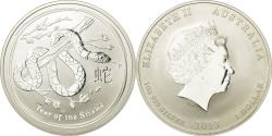 World Coins - Coin, Australia, Elizabeth II, Dollar, 2013, Perth, Year of the Snake,