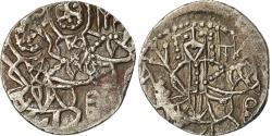 Ancient Coins - Coin, Alexis IV Comnène, Asper, 1417-1429, Double struck, , Silver