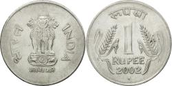 World Coins - Coin, INDIA-REPUBLIC, Rupee, 2002, , Stainless Steel, KM:92.2