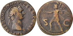 Ancient Coins - Domitian, Dupondius, , Copper, Cohen #432, 11.50