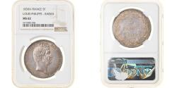 World Coins - Coin, France, Louis-Philippe, 5 Francs, 1830, Paris, NGC, MS62,