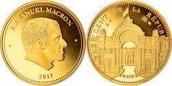 World Coins - France, Medal, Emmanuel Macron, Président de la République, 2017,