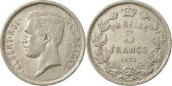 World Coins - Coin, Belgium, 5 Francs, 5 Frank, 1931, , Nickel, KM:97.1
