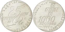World Coins - PORTUGAL, 1000 Escudos, 1999, KM #715, , Silver, 27.00