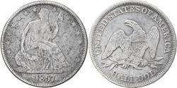 Us Coins - Coin, United States, Seated Liberty Half Dollar, Half Dollar, 1857, U.S. Mint