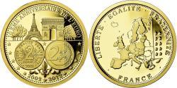 World Coins - France, Medal, 10ème Anniversaire de l'Euro, , Gold