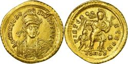 Ancient Coins - Coin, Theodosius II, Solidus, Constantinople, Rare, , Gold, RIC:282