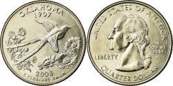 Us Coins - Coin, United States, Oklahoma, Quarter, 2008, U.S. Mint, Denver,