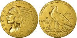 Us Coins - Coin, United States, Indian Head, $5, Half Eagle, 1914, U.S. Mint, Philadelphia