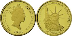 World Coins - Coin, Cook Islands, Elizabeth II, 20 Dollars, 1995, , Gold, KM:257