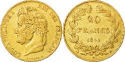 Ancient Coins - Coin, France, Louis-Philippe, 20 Francs, 1844, Paris, , Gold, KM:750.1