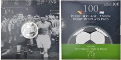 Ancient Coins - Belgium, 10 Euro, Derby des plats pays, 2005, BE, , Silver, KM:251