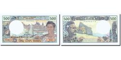 World Coins - Banknote, Tahiti, 500 Francs, Undated (1985), KM:25d, UNC(65-70)