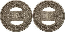 Us Coins - United States, Token, La Salle Oglesby