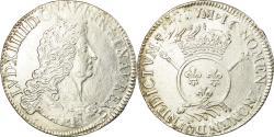 World Coins - Coin, France, Louis XIV, Écu aux insignes, Ecu, Paris, , Silver