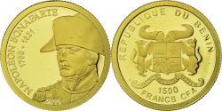 World Coins - Coin, Benin, Napoléon Bonaparte, 1500 Francs CFA, 2010, , Gold