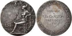 World Coins - France, Medal, Fishing Club de France, Sports & leisure, Baudichon,