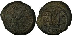 Ancient Coins - Coin, Maurice Tiberius, Follis, 602, Constantinople, , Copper, Sear:495