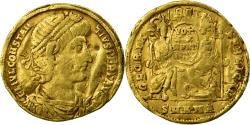 Coin, Constance II, Solidus, Antioch, , Gold, RIC:83