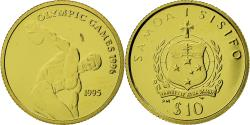 World Coins - Coin, Samoa, Olympics, 10 Tala, 1995, , Gold, KM:113