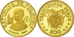 World Coins - Coin, Colombia, 300 Pesos, 1968, , Gold, KM:233