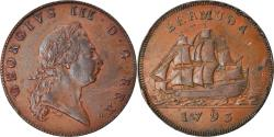 World Coins - Coin, Bermuda, George III, Penny, 1793, , Copper, KM:5