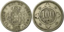 World Coins - Coin, Portugal, Carlos I, 100 Reis, 1900, , Copper-nickel, KM:546