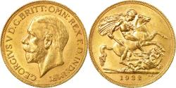World Coins - Coin, South Africa, George V, Sovereign, 1932, , Gold, KM:A22