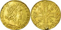 World Coins - Coin, France, Louis XIII, 1/2 Louis d'or, 1643, Paris, , Gold, KM:125