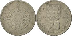 World Coins - Portugal, 20 Escudos, 1986, Lisbon, , Copper-nickel, KM:634.1