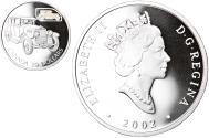 World Coins - Coin, Canada, Elizabeth II, 20 Dollars, 2002, Royal Canadian Mint, Ottawa