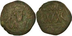 Ancient Coins - Coin, Phocas, Follis, 609-610, Kyzikos, , Copper, Sear:665
