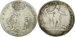 World Coins - Coin, MALTA, ORDER OF, Emmanuel Pinto, Xxx (30) Tari, 1757, , Silver