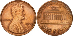 Us Coins - United States, Lincoln Cent, 1969, Denver, , KM:201