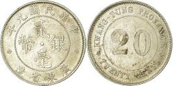 World Coins - Coin, China, KWANGTUNG PROVINCE, 20 Cents, 1920, , Silver, KM:423