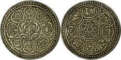 World Coins - Coin, Tibet, Ga-den, Tangka, 1-1/2 Sho, 1908-12, Dode, , Billon