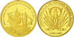 World Coins - Coin, NORTHERN MARIANA ISLANDS, 5 Dollars, 2004, , Gold, KM:2