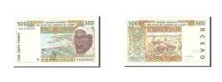 World Coins - Senegal, 500 Francs, 1994, KM:710Kd, Undated, VF(20-25)
