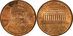 Us Coins - Coin, United States, Lincoln Cent, Cent, 2002, U.S. Mint, Philadelphia